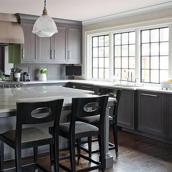 Kitchen Studio:KC - Historical Home Transitional Kitchen
