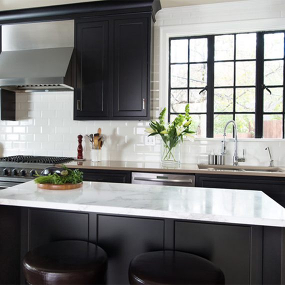 Kitchen Studio:KC - Modern Black Kitchen