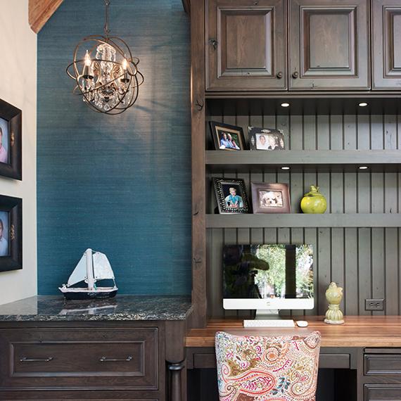 Kitchen Studio:KC - Overland Park Home Office Design