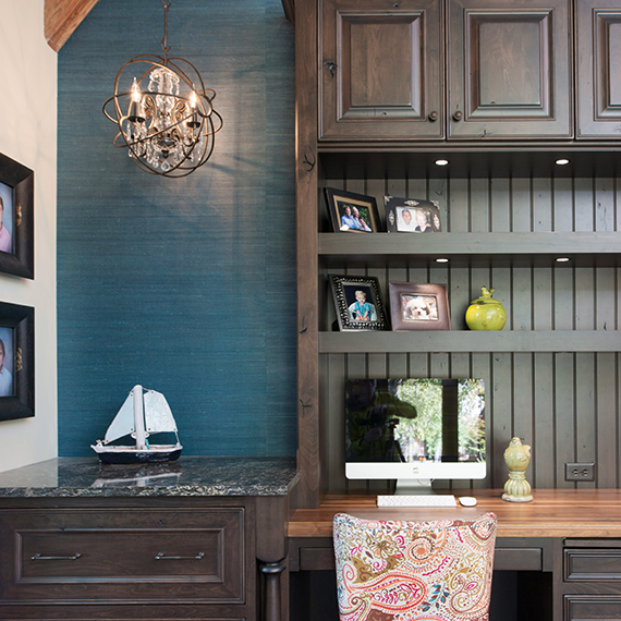 Kitchen Studio:KC - Overland Park Home Office Design