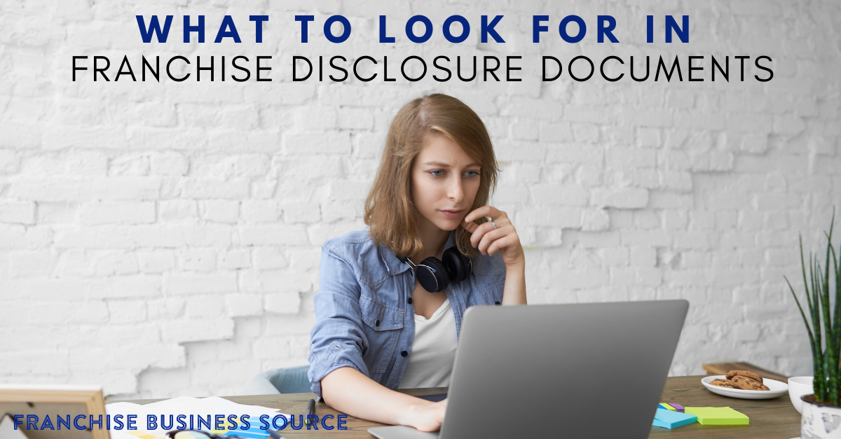 Everything You Need To Know About Franchise Disclosure Documents