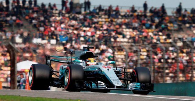 Lewis Hamilton continua com o melhor carro e o melhor motor da categoria. Foto: Mercedes AMG