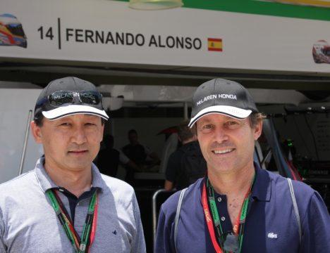 Roberto Akiyama vice-presidente da Honda Autom?veis e Sergio Bessa - diretor de Rela??es Institucionais. Foto: Amauri Yamazaki