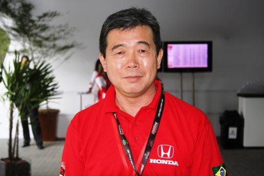 O brasileiro Issao Mizoguchi ? o CEO da Honda para Am?rica do Sul. Foto: Amauri Teruo Yamazaki