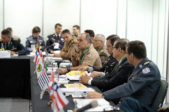 Diversas autoridades de segurança privada e pública participam da ISC Brasil. Foto: Divulgação
