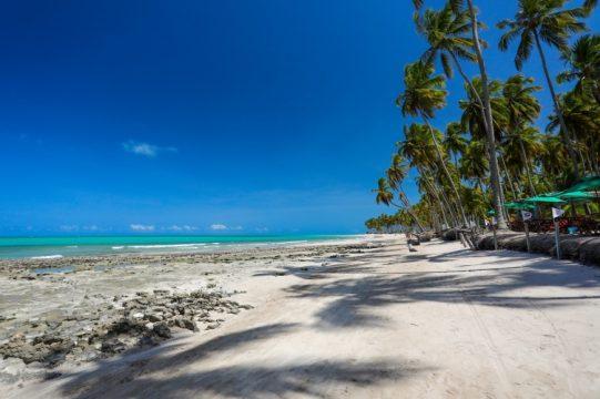 Praias paradisíacas da região da Costa dos Corais em Maragogi no estado de Alagoas. Foto: Rafael Queiroz