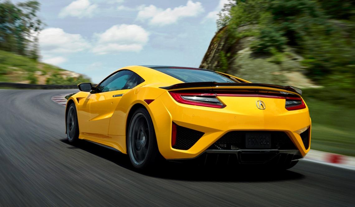 Acura Nsx 2020 Estreia Nova Cor Inspirada Na Tradicao O Indy Yellow Pearl Revista Hg
