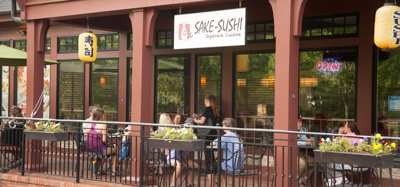 Exterior of Sake Sushi