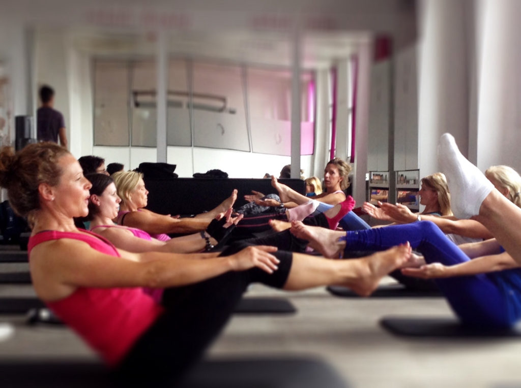 Alex Estornel Pilates Intensive Class