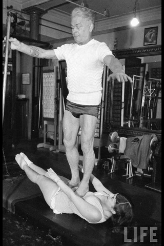 Life magazing Joseph Pilates