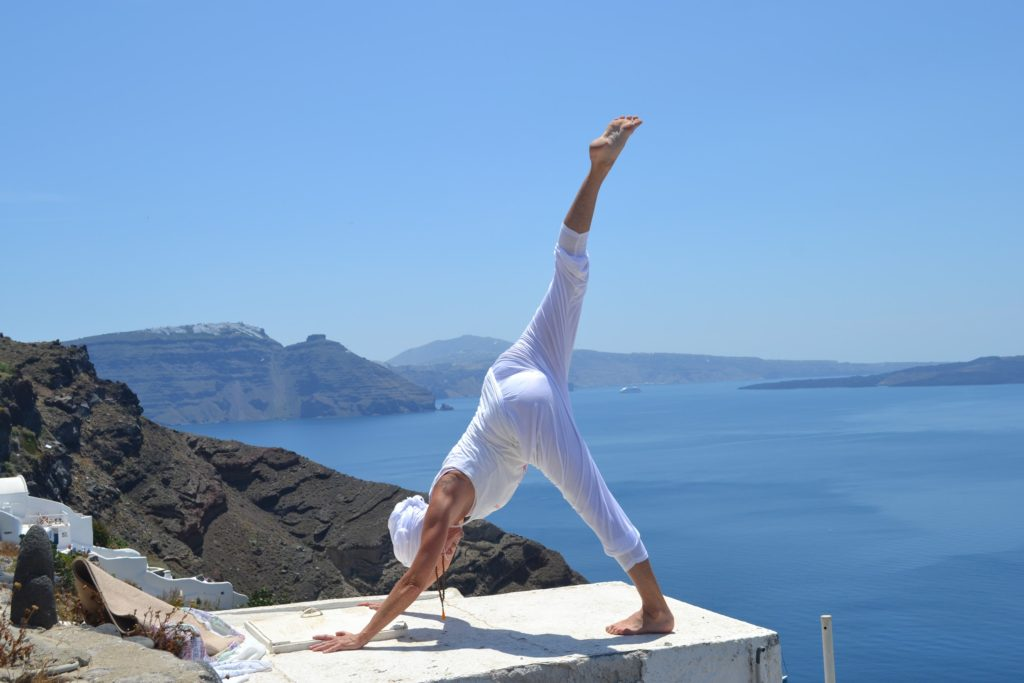 Frauke Behrens with Sky Yoga Retreats