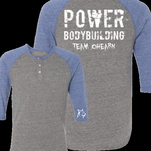 O'Hearn Power Bodybuilding Raglan Henley
