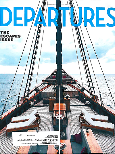 Departures Escape Issue cover