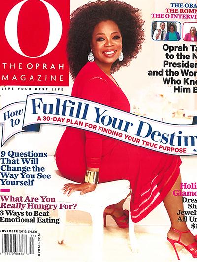 O Mag Nov 2012 1 cover
