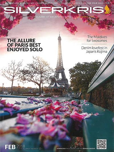Singapore Airlines Paris cover