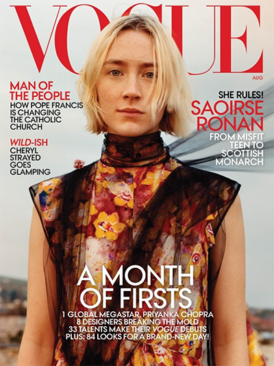 Vogue August 2018 1 cover