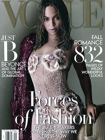 Vogue Sept 2015 cover