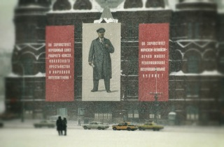 Red Square, Winter 1987