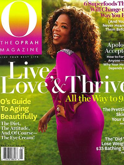 O Magazine-cover