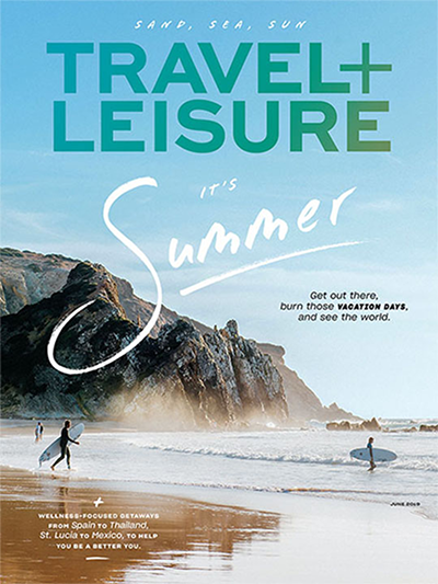 Travel + Leisure Summer 2019-cover