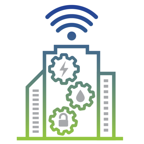 Building Automation & IOT visual icon image