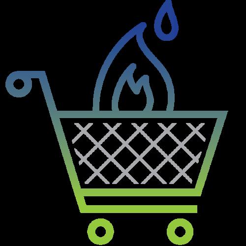 Natural Gas Procurement visual icon image
