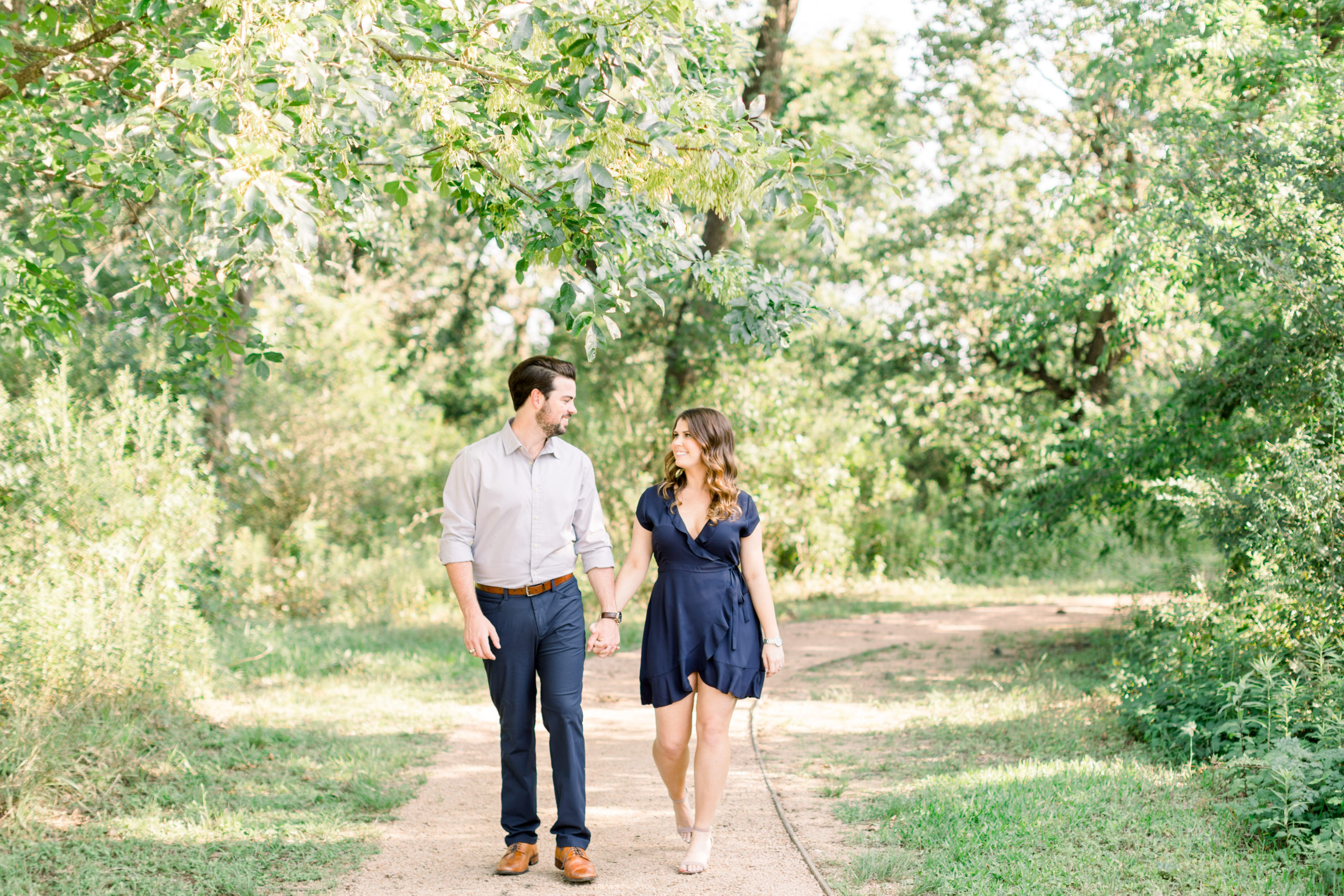 Houston Engagement Session // Joel + Ali