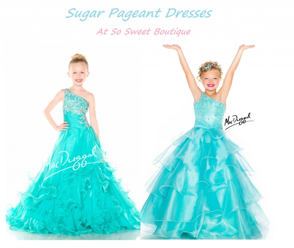 Sugar pageant Dresses