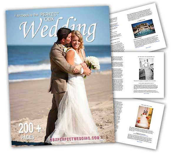 Handbook to the perfect OBX Wedding Cover