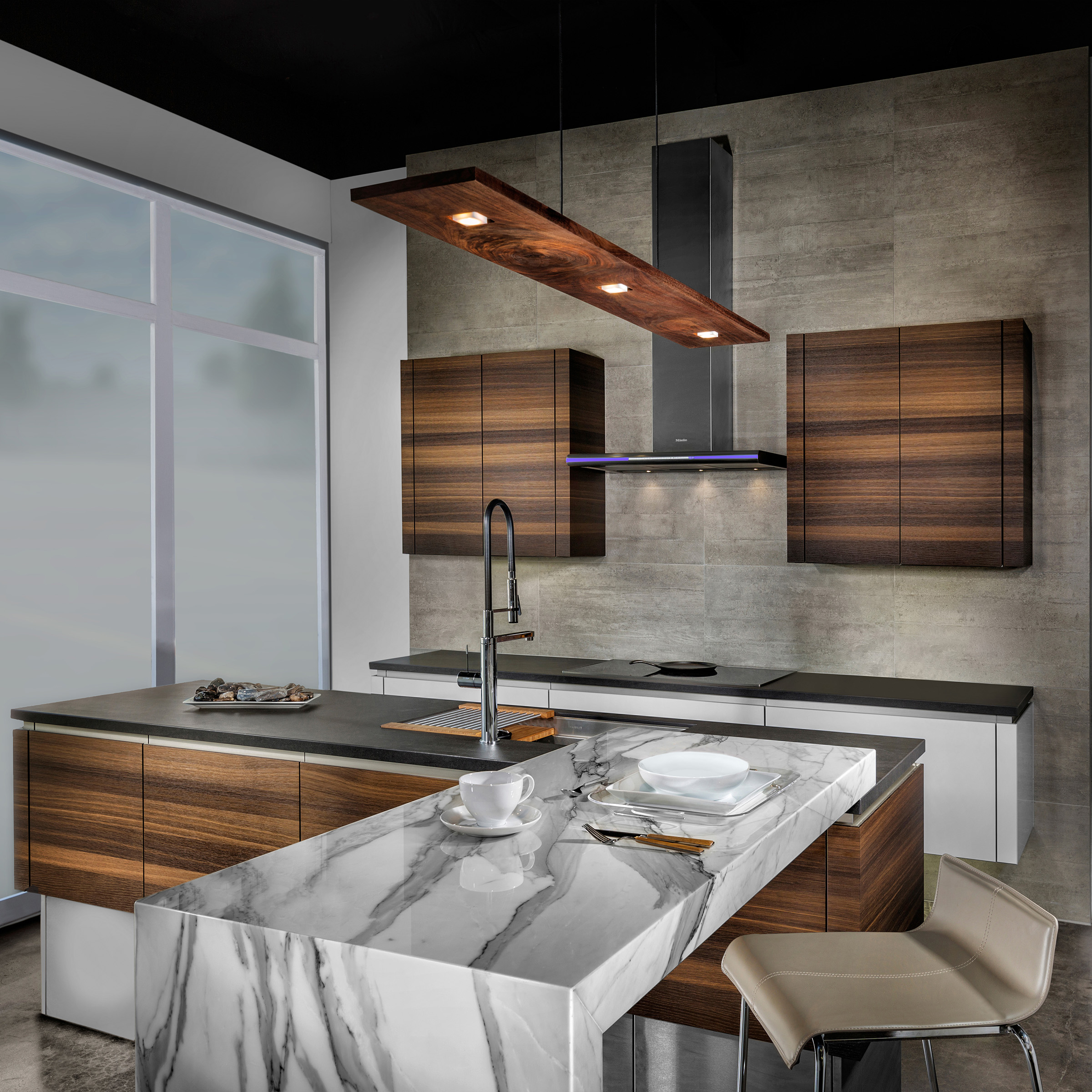 Laguna Beach Contemporary kitchen showroom