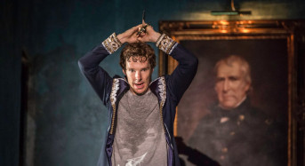 """Benedict Cumberbatch in """"Hamlet"""" — The Hottest Ticket in London Now Playing at a Theater Near You"""