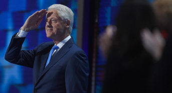 Democratic Convention: Day 2 — After the Boo-Birds Flew Away, the Evening Belonged to Bill Clinton