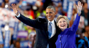 Democratic Convention: Day 3 — Though Trump Tried To Steal the Headlines, Biden, Kaine and Obama Overwhelmed Him