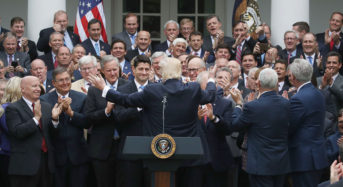 There Are Actually Two Women in This Photo of Gloating GOP Congressmen.  Can You Find Them?