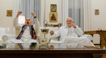 """Now Playing In Your Living Room:  """"The Two Popes"""" Is an Actor's Showcase and a Smart Exploration of Faith"""