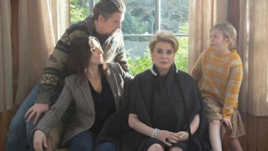 """Now Playing in Your Living Room: Catherine Deneuve, Juliette Binoche and Ethan Hawke Never Quite Know What's a Lie in """"The Truth"""""""