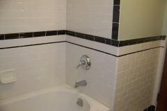 Classic White & Black Subway Tile