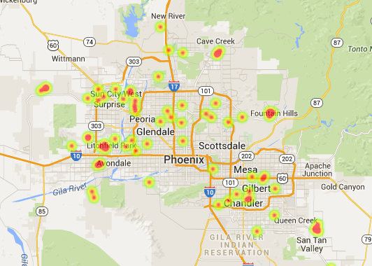 January 2015 Phoenix solar home sales