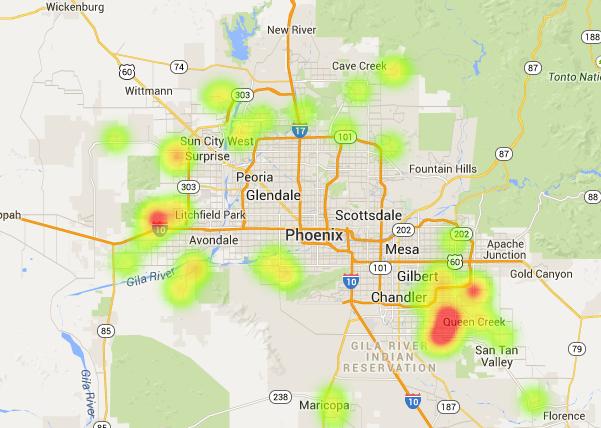 Phoenix new home builders offering solar