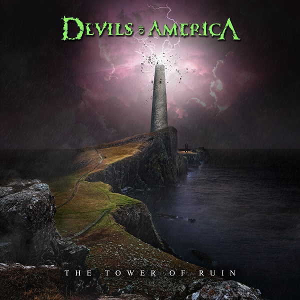 Devils of America - The Tower of Ruin (Cover Design by Dillon R.)