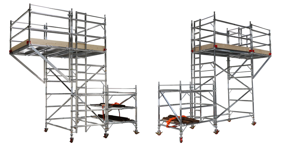 Cantilever,+euro+towers,+working+at+height,+aluminium+access,+confined+space