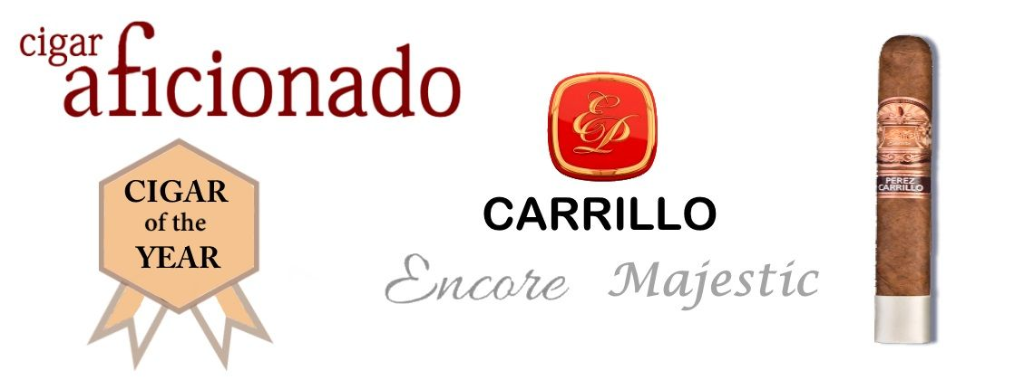 E. P Carrillo Encore Majestic Cigars Box