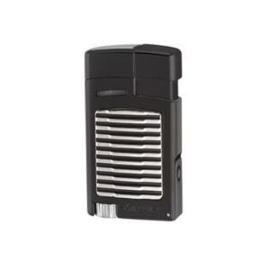 Xikar Forte Lighter W-Punch - Black