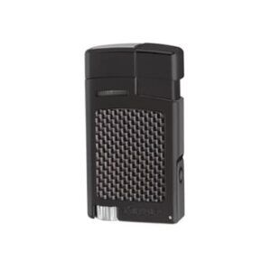 Xikar Forte Lighter W-Punch - Black-Carbon Fibre