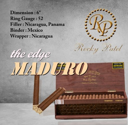 Rocky Patel the edge maduro cigars box of 10