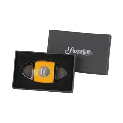 PASSATORE cigar cutter toothed blades black-yellow cut 23mm1