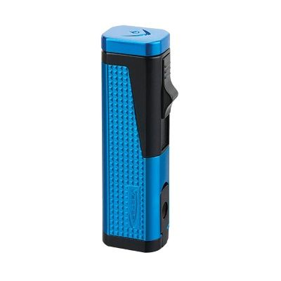 Urbano Triple Torch Lighter W-Punch Sparkle Blue