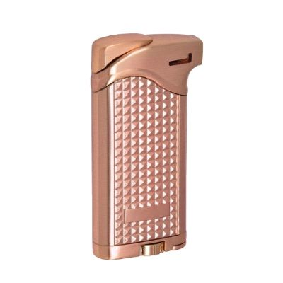 Vector Maximus Pipe Lighter With Tamper ROSE GOLD SATIN