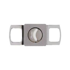 passatore-cigar-cutter-squared-gun-shiny-cut-24mm