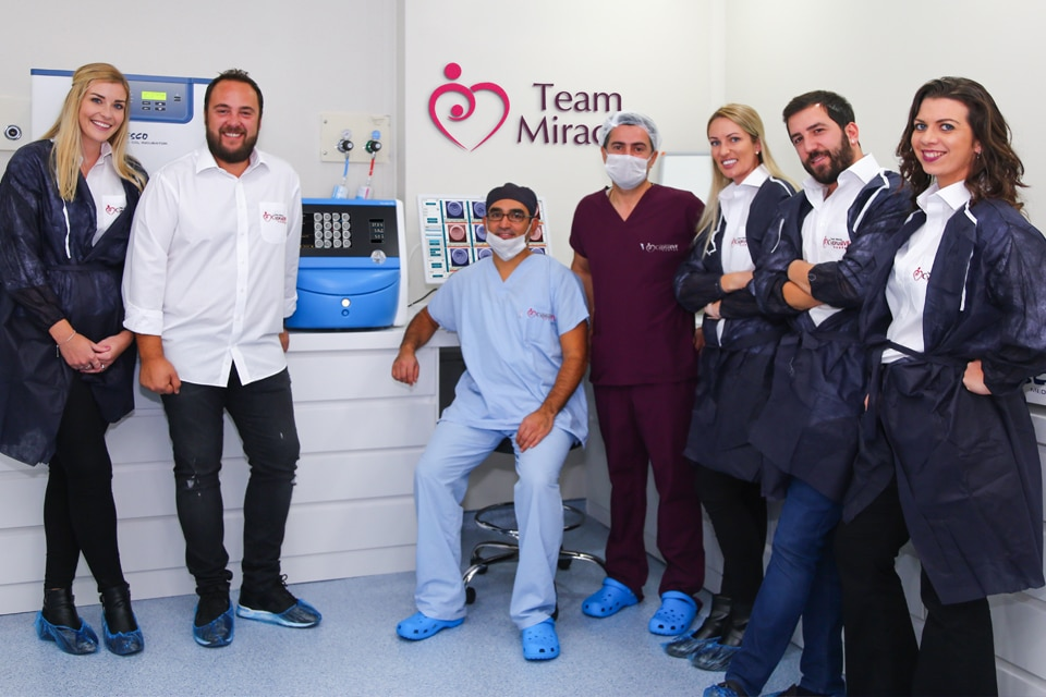 Team Miracle Photo In Cyprus IVF Centre